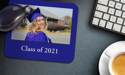 One Custom Photo or Calendar Mousepad from MailPix (Up to 68% Off)
