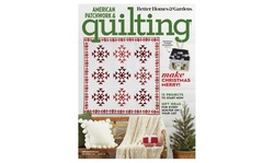American Patchwork & Quilting Magazine Subscription for Six-Months or One-Year (Up to 69% Off)