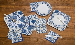 85 Piece Paper Dining Party Set for 10