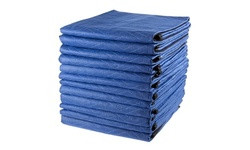 Set of 12 Padded Moving Blankets for Protecting Furniture- 81 x 72 in