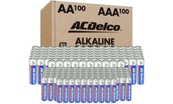 ACDelco Alkaline Batteries AA, AAA, or Combo (200-Pack)