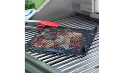BBQ Mesh Grill Bag Set - Includes one large and one small bag