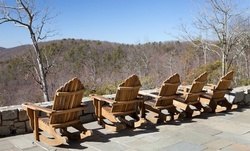 Stay at Amicalola Falls State Park and Lodge in Dawsonville, GA.