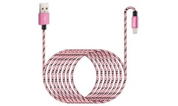 AICase 10ft 2.4A Charging Data Cable Weave Cable For iPhone/iPad