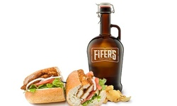 Growler To-Go from Fifer's Craft House (Up to 49% Value)
