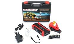 iNova 20000mAh 1000A Peak 12V Car Jump Starter w/ LED Screen & 3 LED Light Modes