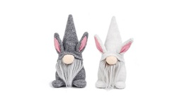 2-Pack Easter Decorations Gnome Faceless Plush Decor Doll