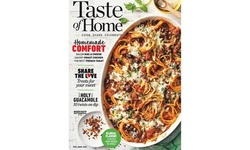 One-Year Subscription to Taste of Home (Up to 49% Off). Two Options Available.