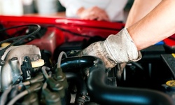 Conventional or Full Synthetic Oil Change with Fluid Tops Offs at Discount Kar Kare (Up to 54% Off)