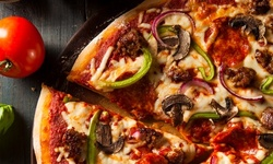 Two Entrees with Salad and Two Desserts or Two Large Supreme Pizzas at Vito's Italian Eatery (Up to 34% Off)