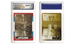 Michael Jordan and Kobe Bryant Gold-Foil NBA Rookie Cards (2-Pack)