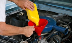 Conventional or Synthetic Oil Change Package at Sam's Automotive Repairs & Collision (Up to 36% Off)