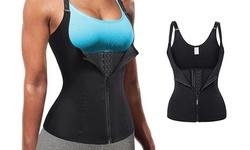 Workout Waist Trainer Tummy Slimming Sheath Sauna Body Shaper Trimmer Belt