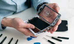 iPhone Glass and LCD Repair, or iPad Glass Replacement at Electrodeals (Up to 70% Off). 17 Options Available.