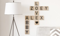 Personalized Wood Scrabble Tiles from Picture it Custom (Up to 79% Off)