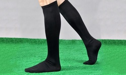 Support and Recovery Knee-High Compression Socks for Men and Women