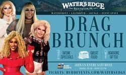 Drag Brunch at Water's Edge (April 10–September 25)