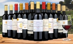 6- or 12-Pack of Bordeaux Red Wines from Wine Insiders (Up to 73% Off)