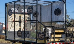 $999 for BTH On-The-Go Private Mobile Axe-Throwing Trailer from Bury The Hatchet ($1,500 Value)