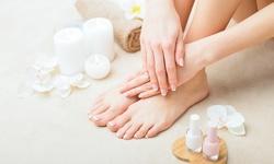 Executive Pedicure, Regular Manicure, Acrylic Full Set at ZivaUnlimited (Up to 47% Off)