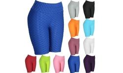 Women Yoga Gym Sport Anti-Cellulite High Waist Hip Leggings Elastic Jogging Pant