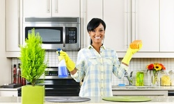 """Get It Clean"""" Service for Studio and 1, 2, or 3 Bedrooms or more from Maid EZ (UP to 63% Off)."""