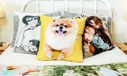 Customized Microsuede Pillow Covers from Collage.com (Up to 85% Off). Six Options Available.