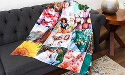 Personalized Fleece Photo Blankets from Collage.com (Up to 81% Off). Eight Options Available.