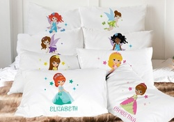 Custom Kids' Characters Pillowcases from Monogram Online (Up to 50% Off). Two Options Available.