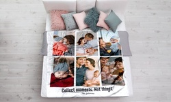 Faux-Mink Photo Blankets from Printerpix (Up to 81% Off). Eight Options Available.