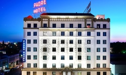 Stay with Drinks and Late Check-Out at The Padre Hotel in Bakersfield, CA
