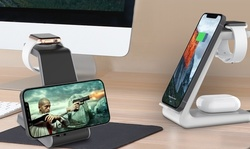 Aduro PowerUp Trinity Pro 3 in 1 Charging Station for iPhone, iWatch & AirPods