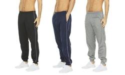 (3-Pack) Men's Tech Fleece Performance Fleece Joggers Sweatpants