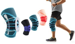 Anti Slip Stabilizers Knee Compression Sleeve w/ Patella Gel Pad for Pain Relief