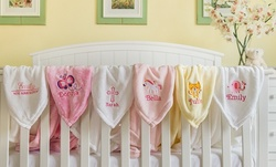 Personalized Baby Blankets with Animal Designs from Qualtry (Up to 51% Off)