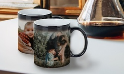 One or Two Personalized Mugs or Magic Mugs from Photobook America (Up to 69% Off)