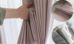 Custom Curtains from Ready Pleat (Up to 60% Off). Two Options Available.