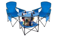 Durable Outdoor Picnic Folding Table and Folding Chair