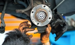 Front or Rear or Front and Rear Brake-Pad Replacement at Nobel Gas & Service (Up to 32% Off)