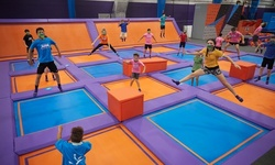 Jump Passes, Friday/Saturday Events, or Party Package at Altitude Trampoline Park - Corsicana (Up to 46% Off)