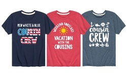Summer Time Matching Cousin Crew Tees