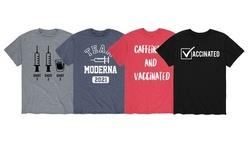 Men's Vaccinated Short Sleeve Tees