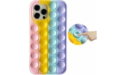 Waloo Apple iPhone Stress/Anxiety Relief Fidget Toy Pop Bubble Silicone Case