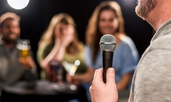 Standup Comedy at The Comedy Scene (Through September 4)