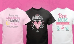 Personalized Mother's Day T-Shirts from GiftsForYouNow.com (Up to 52% Off)