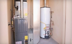 Cleaning and Inspection of aResidential Heating Unit, Water Heater, or Both(Up to 61% Off)