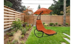 Outdoor Rocking Chaise Lounger Hammock Chair