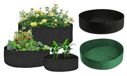 Planter Flower Grow Bag Raised Fabric Bed Elevated Vegetable Box For Garden