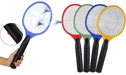 Electric Rechargeable Handheld Bug Zapper Insect Fly Swatter Racket
