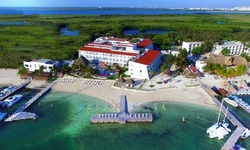 All-Inclusive Stay with Meals, Drinks, and Activities at Cancun Bay Resort in Mexico.